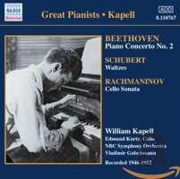 BEETHOVEN: Piano Concerto No. 2 / SCHUBERT: Waltzes and Dances
