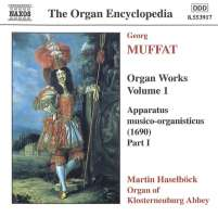 MUFFAT: Organ Works, Vol. 1