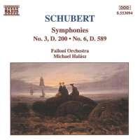 SCHUBERT: Symphonies Nos. 3 and 6