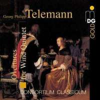 Telemann Overtures for wind quintet