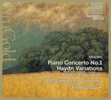 Brahms: Piano Concerto No. 1 / Haydn Variations