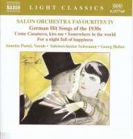 GERMAN HIT SONGS OF THE 1930's