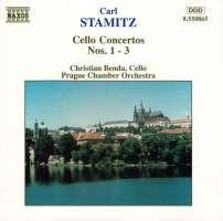 STAMITZ: Cello Concertos 1 - 3