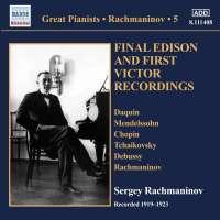Rachmaninov: Solo Piano Recordings Vol. 5