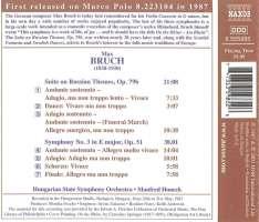 BRUCH: Symphony no. 3