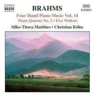 BRAHMS: Four-Hand Piano Music Vol. 14