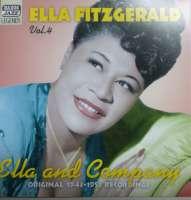 Ella Fitzgerald – Ella And Company Vol.4 Original 1943-51 Recordings