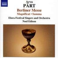 PART: Berliner Messe / Magnificat / Summa