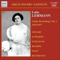 Lotte Lehmann - Lieder Recordings Vol.1