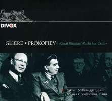 Glière & Prokofiev: Works for Cello & Piano
