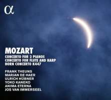 Mozart:  Concerto For 2 Pianos; Concerto For Flute And Harp; Horn Concerto K447