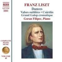 Liszt: Complete Piano Music Vol. 49 - Dances