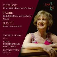 Debussy, Fauré & Ravel: Works for Piano & Orchestra