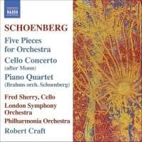 SCHOENBERG: Serenade, Variations Op. 31, Bach Orchestrations