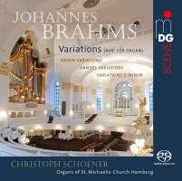 Brahms: Variations (arr. for Organ)
