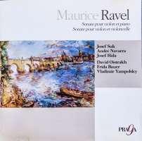 Ravel: Sonatas For Violin & Piano And Violin & Cello