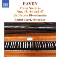 HAYDN: Piano sonatas 43, 44 & 47