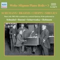 Welte-Mignon Piano Rolls, Vol. 3 (1905-1926)