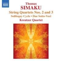 SIMAKU: String Quartets Nos. 2 and 3