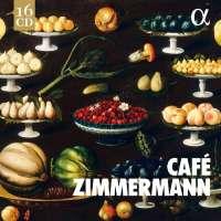 WYCOFANY  Café Zimmermann: Works By J.S. Bach / C.P.E  Bach / Vivaldi  / Avison / D'Anglebert