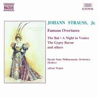STRAUSS J. Jr.: Famous Overtures