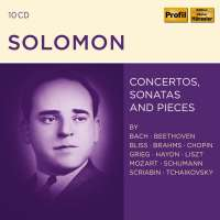 Solomon - Concertos, Sonatas and Pieces