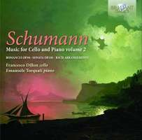 Schumann: Music for Cello & Piano Vol. 2