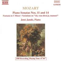 Mozart: Piano Sonatas Nos. 11 and 14, Fantasia in C Minor