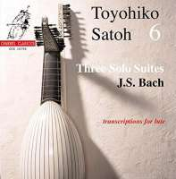 Bach: Three solo suites