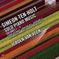 Ten Holt: Solo Piano Music Vol. 1 - 5