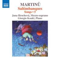 Martinů: Songs Vol. 5