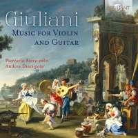 Giuliani: Music for Violin and Guitar