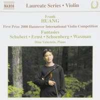 SCHUBERT; SCHOENBERG: Violin Recital