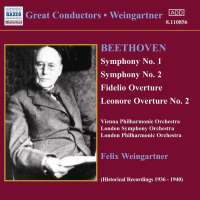 BEETHOVEN: Symphonies Nos. 1 and 2