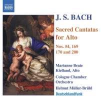 BACH: Sacred cantatas for alto