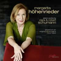 Piano Works by Clara & Robert Schumann