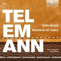 Quintessence Telemann: Tafelmusik