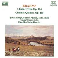 Brahms: Clarinet Trio & Quintet