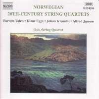 20th Century Norwegian String Quartets