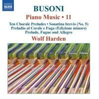Busoni: Piano Music Vol. 11
