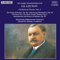 GLAZUNOV: Orchestral works vol. 3