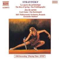 Stravinsky: Le Sacre du Printemps, Jeu de Cartes