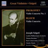 PROKOFIEV / BLOCH: Violin Concertos (1935, 1939)