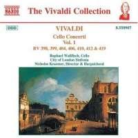 VIVALDI: Cello Concertos Vol. 1