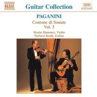 PAGANINI: Centone di Sonate vol. 3