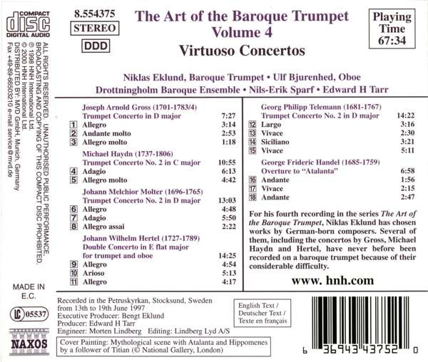 Art of Baroque Trumpet vol. 4 - slide-1