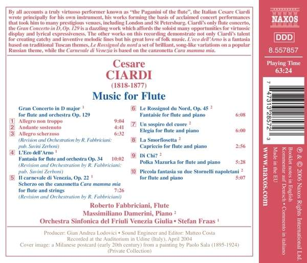 CIARDI: Music for flute ... - slide-1