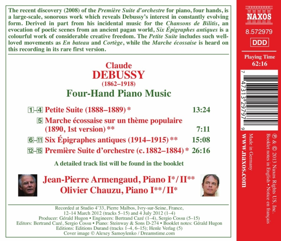 Debussy: Four-Hand Piano Music - slide-1